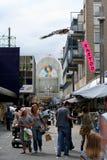 Almere, nuova città Fotografie Stock Libere da Diritti