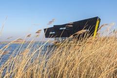 ALMERE, PAESI BASSI - 17 MARZO 2016: Il NP Oostvaardersplassen Immagini Stock Libere da Diritti