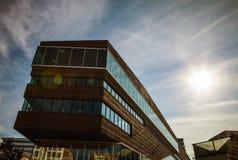 ALMERE, PAESI BASSI - 18 OTTOBRE: Architettura del centro urbano moderno di Almere netherlands Fotografia Stock Libera da Diritti