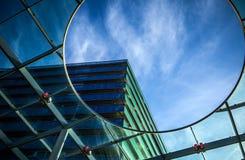 ALMERE, PAESI BASSI - 18 OTTOBRE: Architettura del centro urbano moderno di Almere netherlands Fotografie Stock
