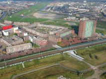 Almere Poort, Paesi Bassi Fotografie Stock