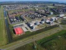 Almere Poort - progetto Duin del cantiere Immagini Stock Libere da Diritti