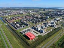 Almere Poort - progetto Duin del cantiere Fotografia Stock