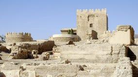 Almeria, Andalusia, spagna, Europa, alcazaba Immagine Stock Libera da Diritti
