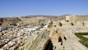 Almeria, Andalusia, spagna, Europa, alcazaba Fotografie Stock Libere da Diritti