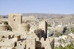 Almeria, Andalusia, spagna, Europa, alcazaba Immagini Stock