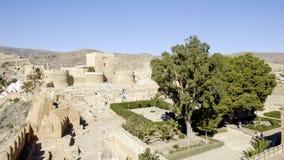 Almeria, Andalusia, spagna, Europa, vista da Alcazaba Fotografie Stock