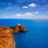 Almeria Cabo de Gata lighthouse Mediterranean Spain Stock Photos
