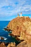 Almeria Cabo de Gata lighthouse in Spain Stock Photography