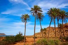 Almeria Cabo de Gata Playazo Rodalquilar beach Stock Images