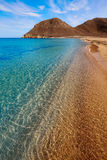 Almeria Cabo de Gata Playazo Rodalquilar beach Royalty Free Stock Photos