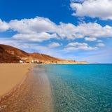 Almeria Cabo de Gata Playazo Rodalquilar beach Royalty Free Stock Image