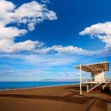 Almeria Cabo de Gata San Miguel beach lifeguard Royalty Free Stock Photos