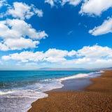 Almeria Cabo de Gata San Miguel beach Spain Royalty Free Stock Photo