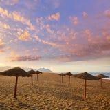 Almeria Cabo de Gata San Miguel beach Spain Stock Photos