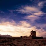 Almeria Cabo de Gata tower Torreon in San Miguel Royalty Free Stock Images