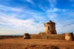 Almeria Cabo de Gata tower Torreon in San Miguel Royalty Free Stock Image