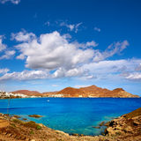Almeria Cabo Gata San Jose beach village Spain Royalty Free Stock Photos