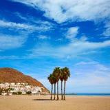 Almeria Cabo Gata San Jose beach village Spain Stock Images