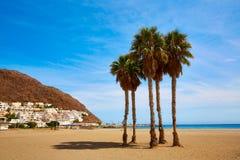 Almeria Cabo Gata San Jose-Stranddorf Spanien lizenzfreies stockbild