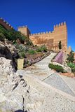 Almeria Castle. Royalty Free Stock Photo