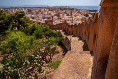 Almeria Castle Stock Photography