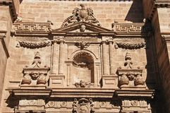 Almeria Cathedral detail, Spain. Stock Photography