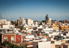 Almeria city Stock Photos
