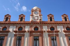 Almeria. City Hall of Almeria in Andalusia, Spain Stock Images