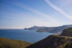 Almeria-Landschaft Lizenzfreie Stockfotografie