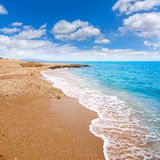Almeria Mojacar beach Mediterranean sea Spain Royalty Free Stock Image