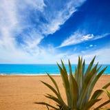 Almeria Mojacar plaży morze śródziemnomorskie Hiszpania Zdjęcia Stock