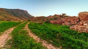 Almeria mountains. Taken before sunset Royalty Free Stock Photography