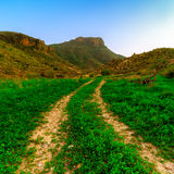 Almeria mountains Stock Image