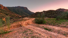 Almeria mountains Stock Photography