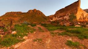 Almeria mountains. Taken before sunset Stock Images