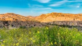 Almeria mountains. Taken before sunset Royalty Free Stock Image
