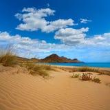 Almeria Playa Genoveses beach Cabo de Gata Royalty Free Stock Photo