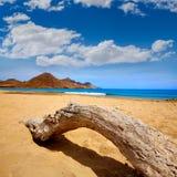 Almeria Playa Genoveses beach Cabo de Gata Stock Photos