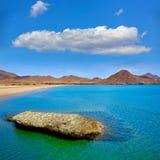 Almeria Playa los Genoveses beach Cabo de Gata Royalty Free Stock Image