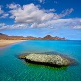 Almeria Playa los Genoveses beach Cabo de Gata Stock Images