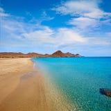 Almeria Playa los Genoveses beach Cabo de Gata Stock Photography