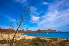 Almeria Playa los Genoveses beach Cabo de Gata Stock Image