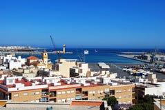 Almeria Port, Spagna Immagini Stock
