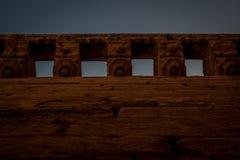 Almeria-Schlosswände Stockfotos