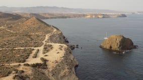 Almeria wybrzeże Zdjęcia Royalty Free