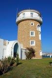Almerimar harbour watchtower. Royalty Free Stock Photo