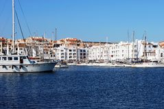 Almerimar marina, Spain. Royalty Free Stock Photography