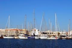 Almerimar marina, Spain. Stock Photography