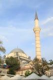 Alminar de Beyazit Mosque en Estambul Imágenes de archivo libres de regalías